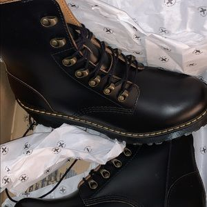 Dr Martine boots woman